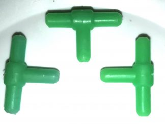 plastic t-connector air valve